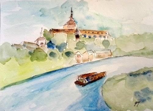 Boat on the Sambre