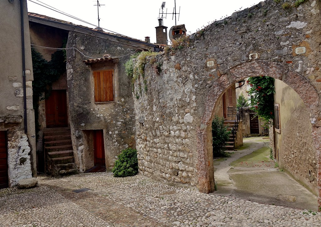 Italien, Italy,  In Malcesine(TN) am Gardasee, 79185/20011