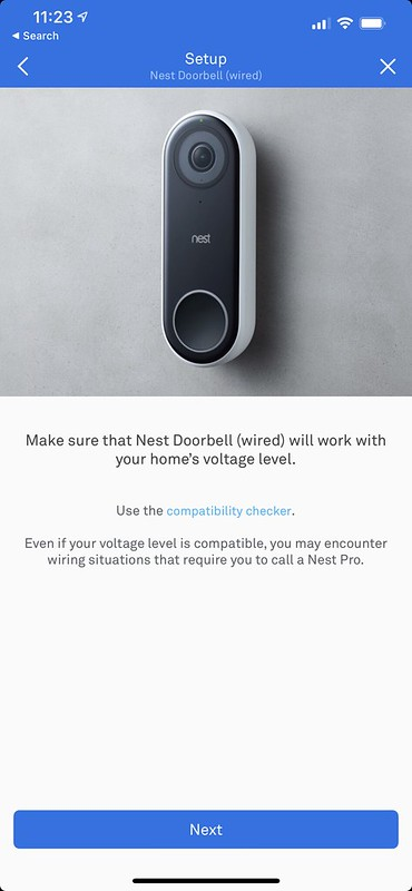 Nest iOS App - Setup