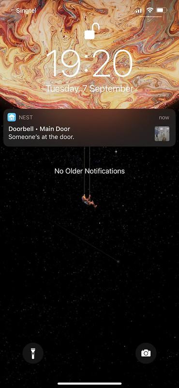Nest iOS App - Doorbell App Notification