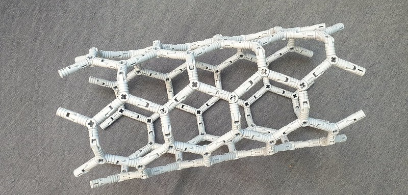 Lego carbon nanotube