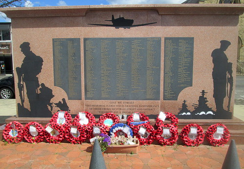 Names and Dedication, Chester-le-Street War Memorial