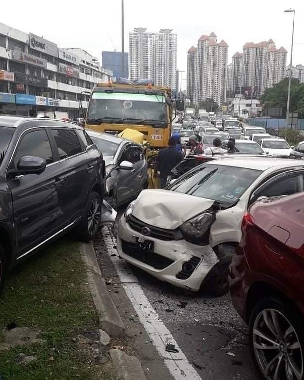 Pemandu Lori Pasir Punca Kemalangan Ngeri Didapati Positif Dadah