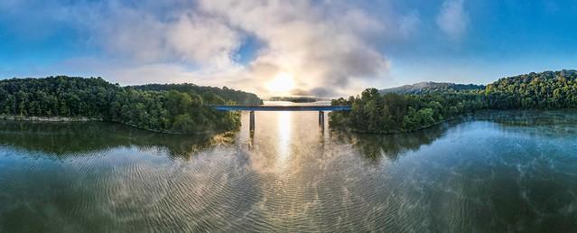 Sunrise at Casey Creek Bridge