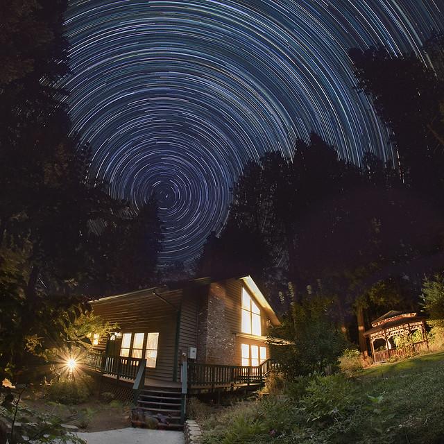 Star Trails_Blue (Explored)