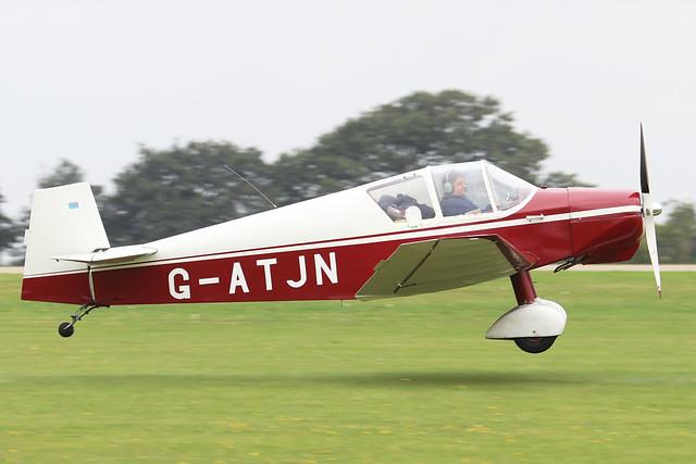 G-ATJN  -  Dormois Jodel D.125 c/n 863  -  EGBK 3/9/21