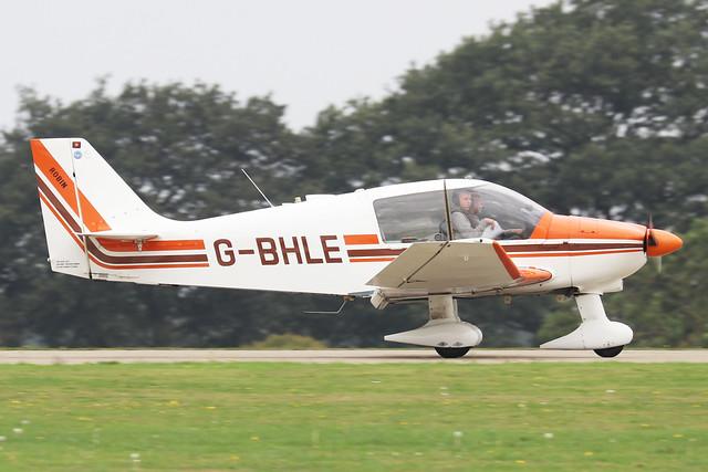 G-BHLE  -  Robin DR.400 180 Regent c/n 1466  -  EGBK 3/9/21