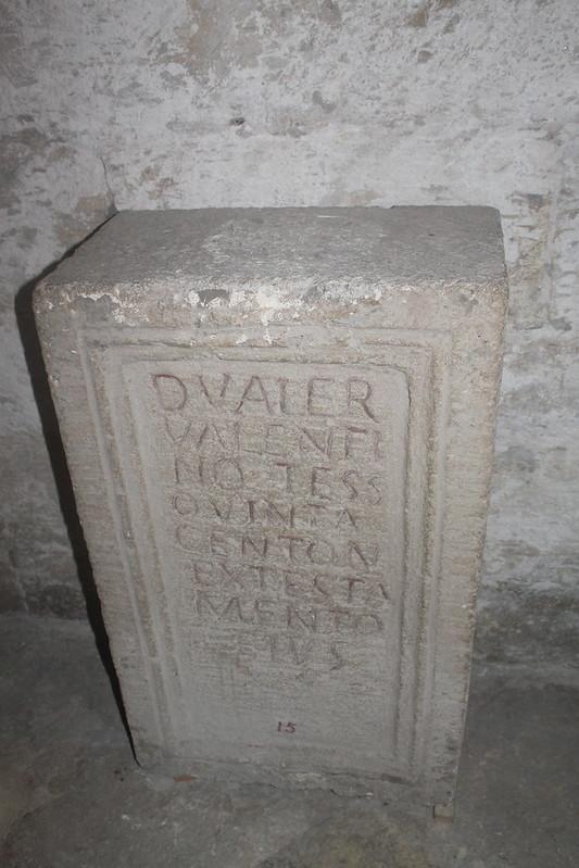 Funerary Monument of D. Valerius Valentinus
