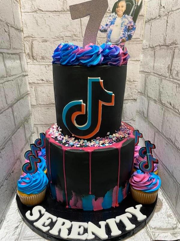 Cake by Sugar Coated Co.