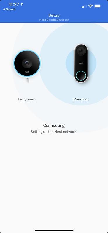 Nest iOS App - Connecting