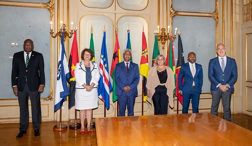 21.09. Secretário Executivo recebe Diretora do Escritório da OEI em Portugal