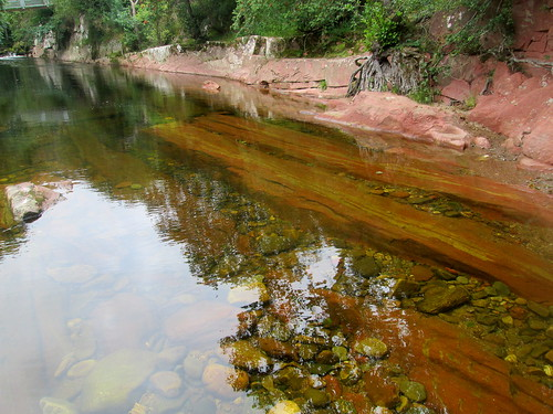 River West Water, by Edzell Castle, Scotland