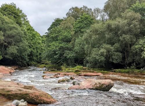 River West Water , near Edzell Castle, Scotland