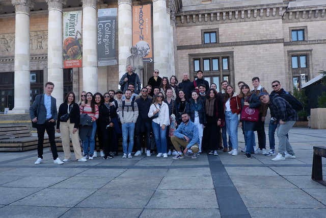 Warsaw city tour for the Natolin students of the Éliane VOGEL-POLSKY Promotion