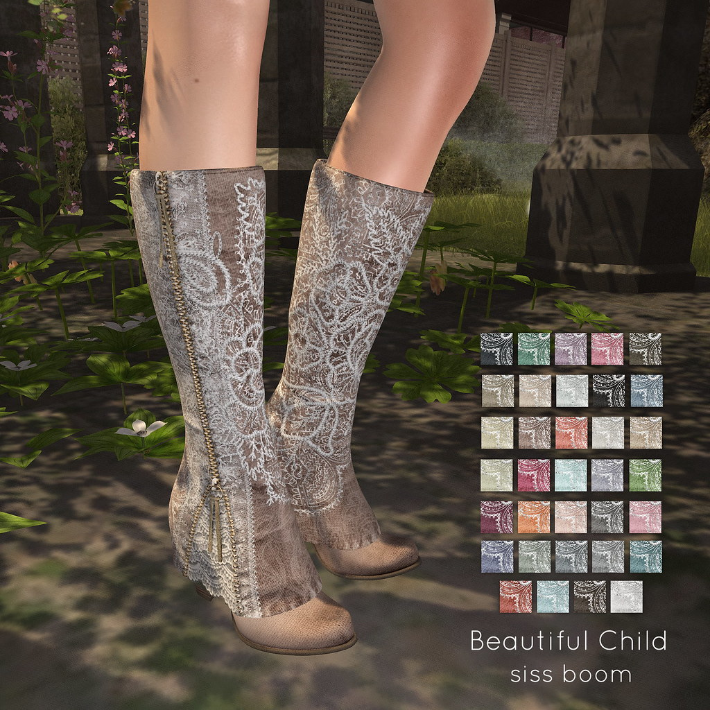 -siss boom-beautiful child boot ad