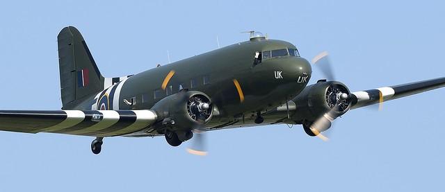 Douglas Dakota DC-3 RAF ZA947 BBMF Kwicherbichen