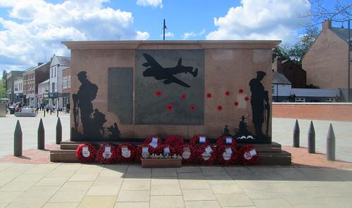 Chester-le-Street War Memorial Reverse 1