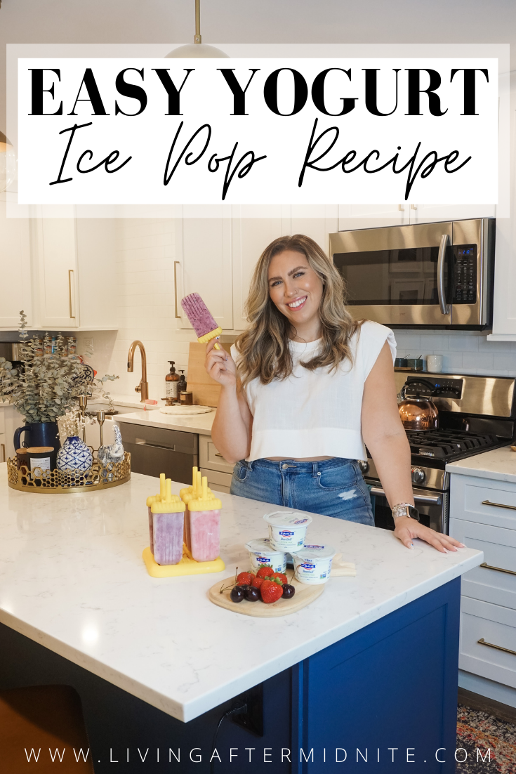 Easy Yogurt Ice Pop Recipe with FAGE BestSelf Lactose Free Yogurt