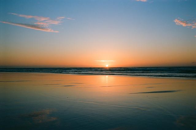 Sunrise. Nikonos III, 35mm