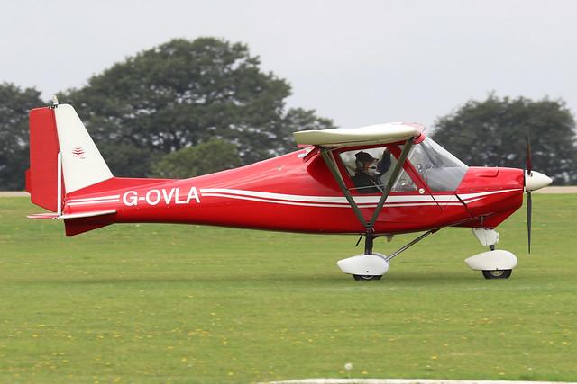 G-OVLA  -  Comco Ikarus C42 FB UK c/n PFA 322-14028  -  EGBK 3/9/21