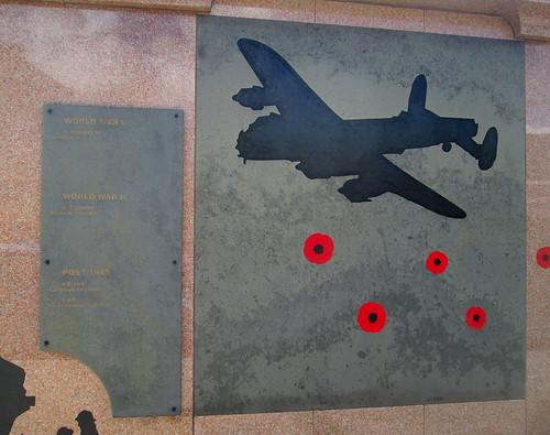 Detail. War Memorial, Chester-le-Street,