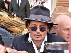 Johnny Depp. Deauville festival. France le 5/09/2021