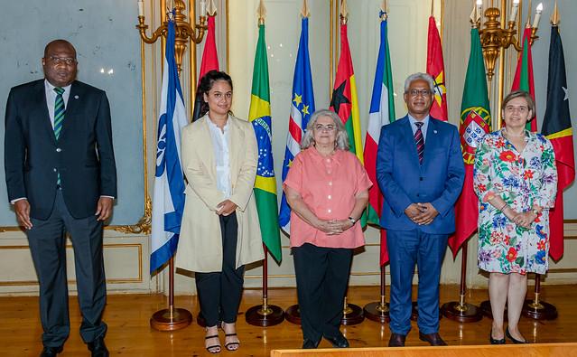 21.09. Secretário Executivo recebe Embaixadora da Representação de Portugal junto da CPLP