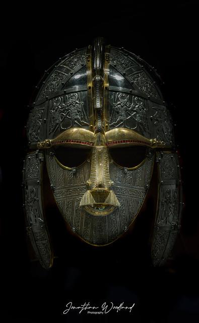 The Sutton Hoo Mask , Suffolk (Explored).