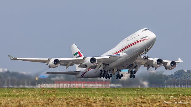 Dubai Air Wing B747M