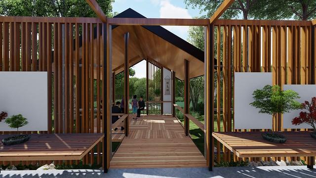 New Bonsai House project - Brisbane Botanic Gardens Mt Coot-tha
