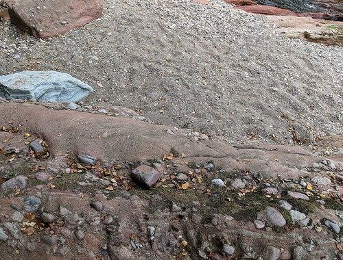River West Water geology, near Edzell Castle, Scotland