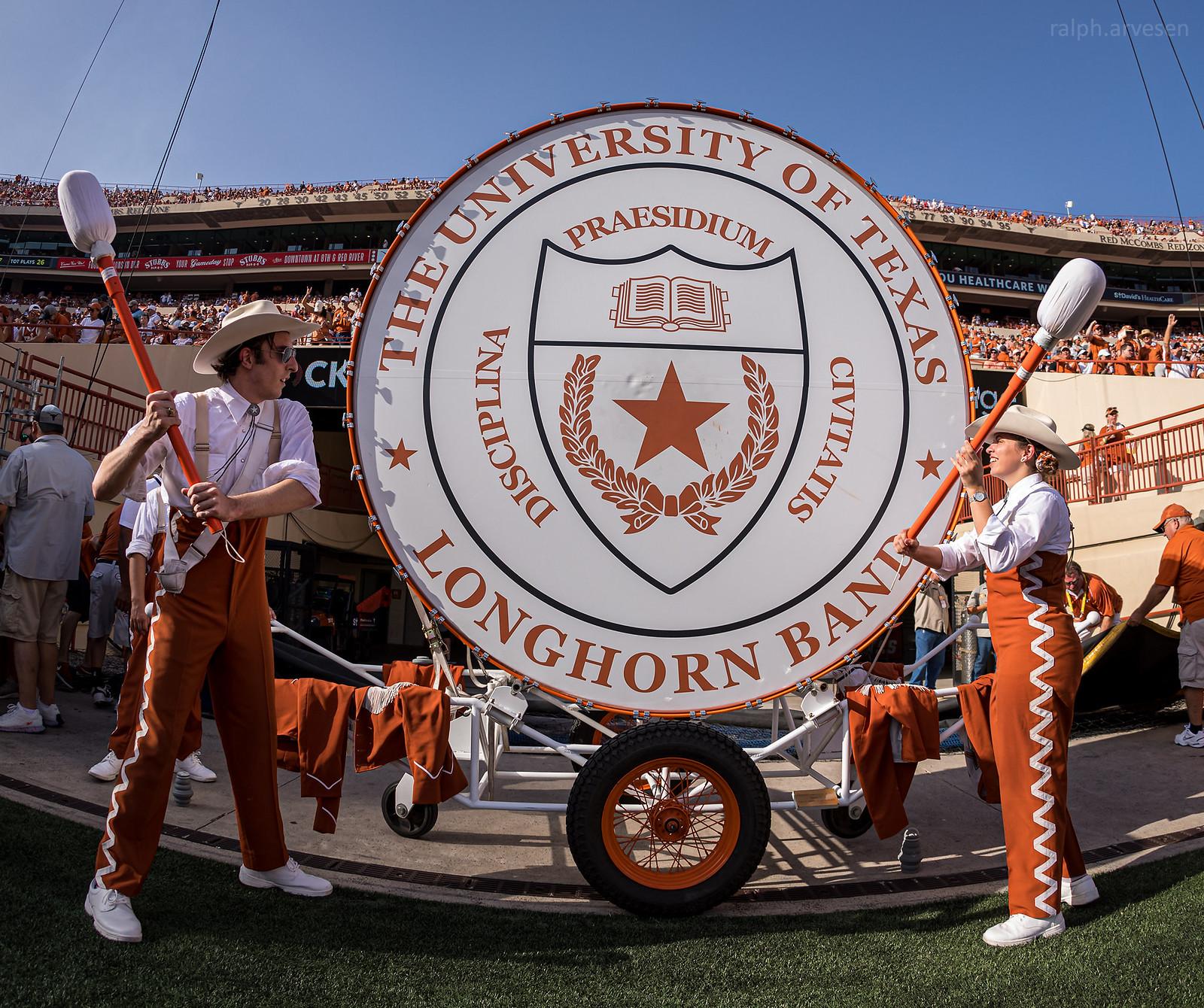 Longhorn Band | Texas Review | Ralph Arvesen