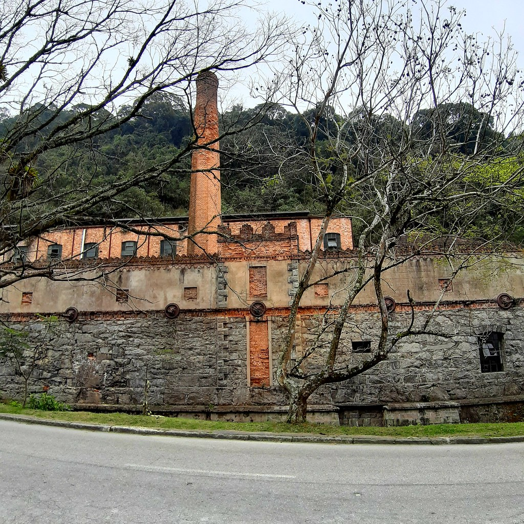 Former fabric factory in Petropolis, Brazil.