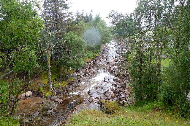 Waterfall at Camusnagaul