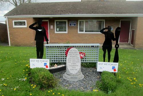 A War Memorial in Stanley, County Durham.