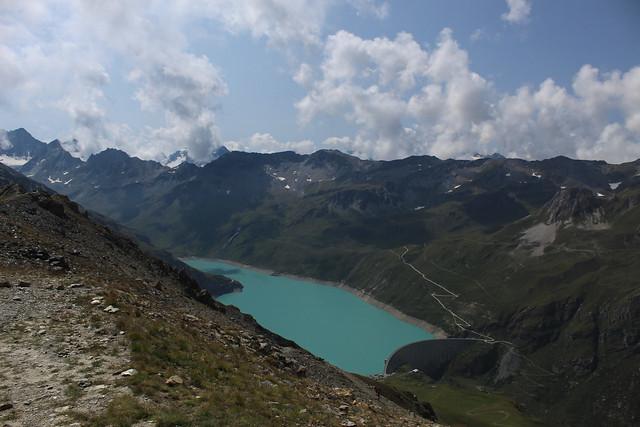 Lac et barrage de Moiry