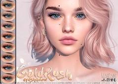 WarPaint* GoldRush eyeshadow <3