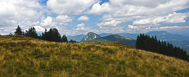 The upper part of Kašna planina
