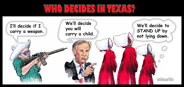 TEXAS DECIDES GUNS, BABIES & SEX