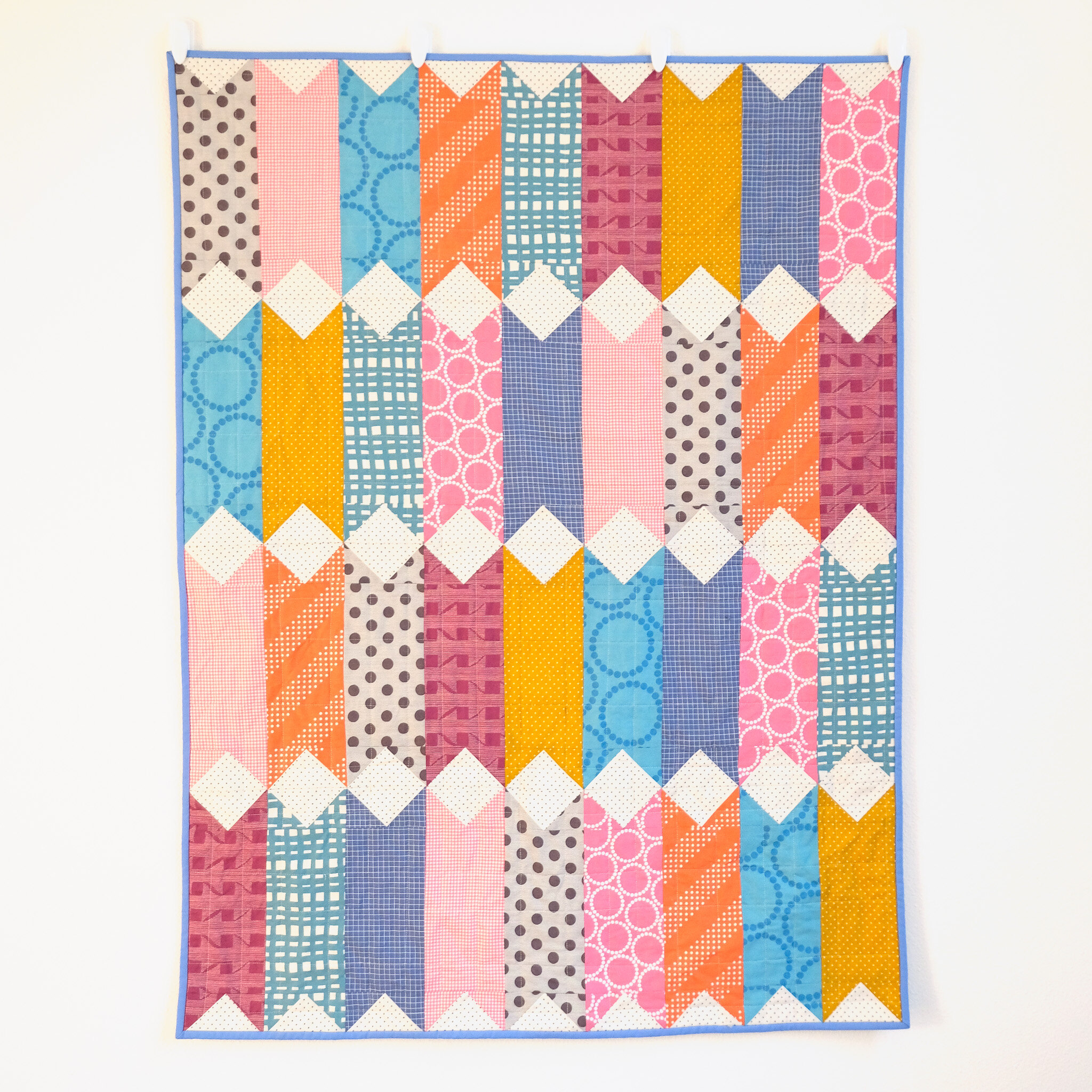 A Baby Size Virginia Quilt - Kitchen Table Quilting