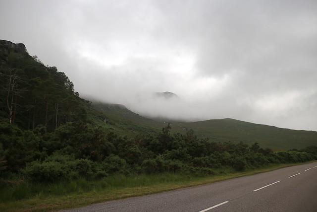 Mist beside the A832