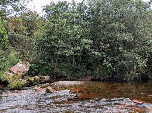 River West Water, near Edzell Castle, Scotland