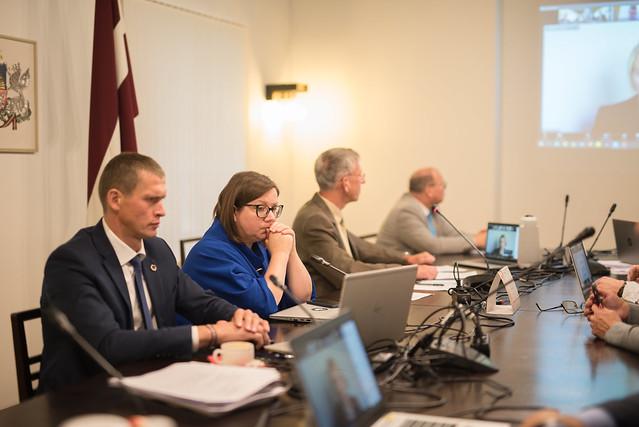 Pilsonības, migrācijas un sabiedrības saliedētības komisijas sēde