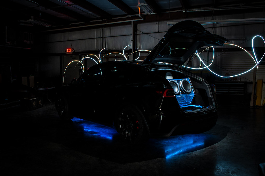 Creative Audio Tesla Model Y Beauty Shots