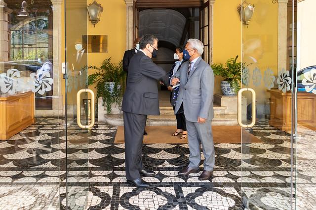 21.09. Secretário Executivo recebe cartas credenciais do Embaixador da Grécia em Portugal