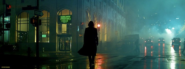 Matrix Ressurections NEO City Night Fight 01