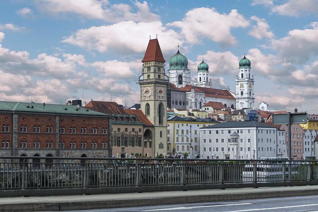 Passau Rathaus / Dom