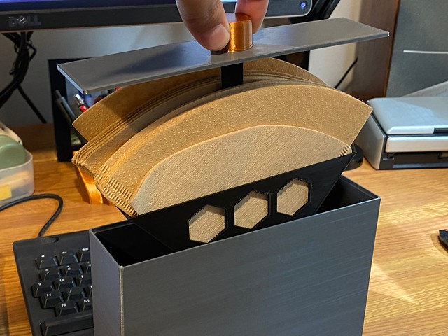 Coffee Filter Storage Box