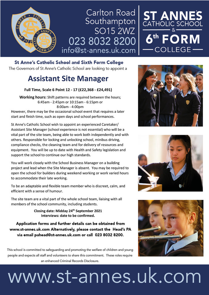 Microsoft Word - Assistant Site Manager September 2021.docx