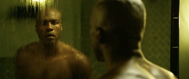 Matrix Resurrections Morpheus Bathroom scene 01